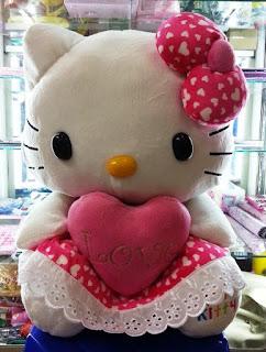 Gambar boneka hello kitty jumbo
