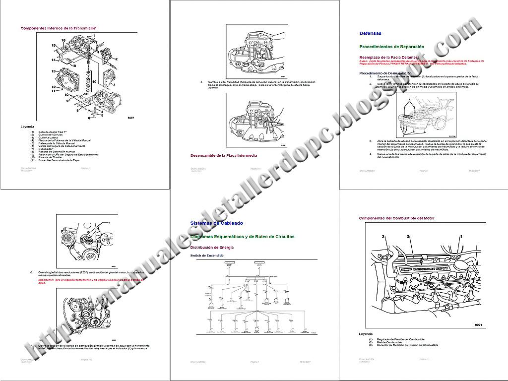 manual de taller chevrolet corsa