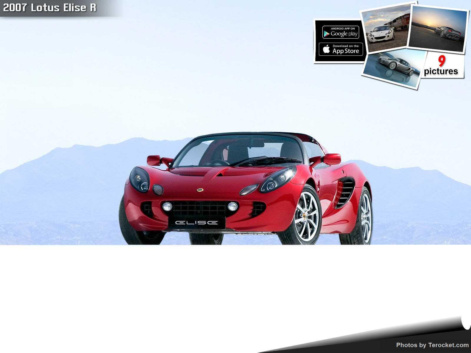 Hình ảnh siêu xe Lotus Elise R 2007 & nội ngoại thất