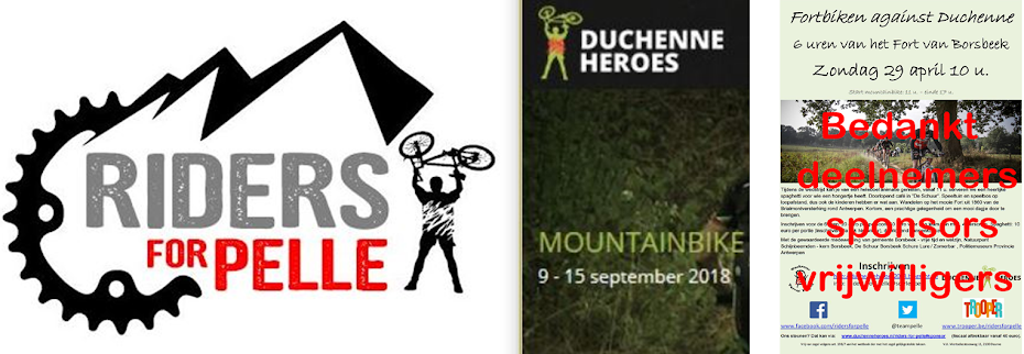 Fortbiken against Duchenne - 6 uren van het Fort van Borsbeek