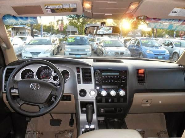 toyota tundra double cab interior