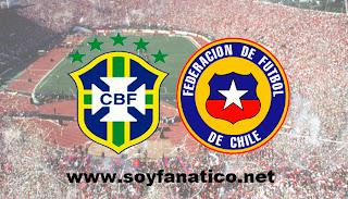 Chile vs Brasil - Amistoso 2013