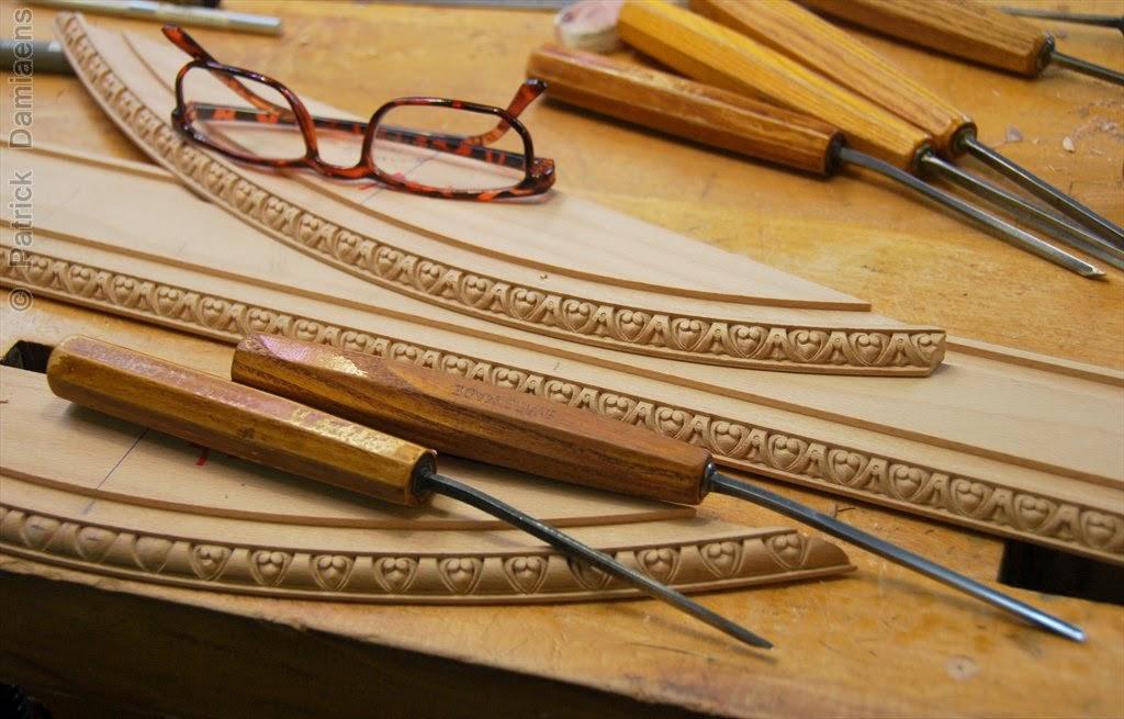 ornamental woodcarver patrick damiaens egg and dart