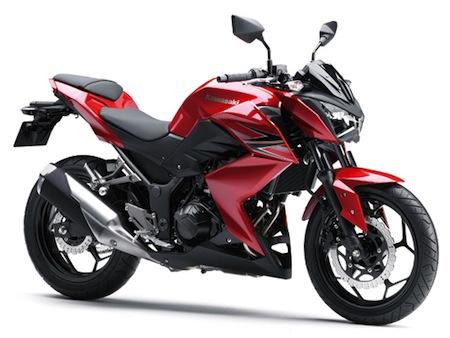 pesifikasi dan Harga Motor Kawasaki Ninja Z250 StreetFighter