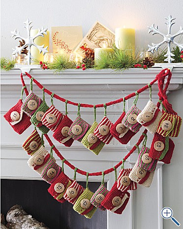 Knitting Pattern Christmas Advent Calendar : Advent Calendar