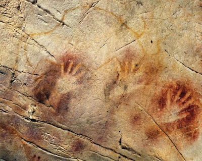 Neanderthal rock art