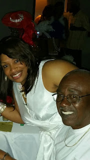 Tiffany Williams and her father