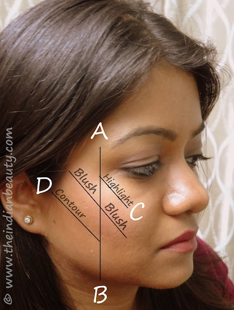 cheek contouring and blush application (5)