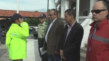 Alcalde Alcides Monsalve informó pago de aumento a Policía Municipal