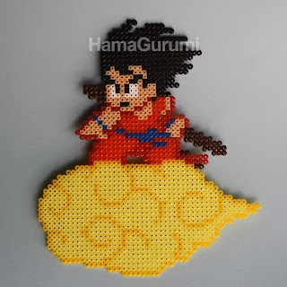 Trabajos HamaGurumi (Mini) Goku_dragon_ball_hamabeads