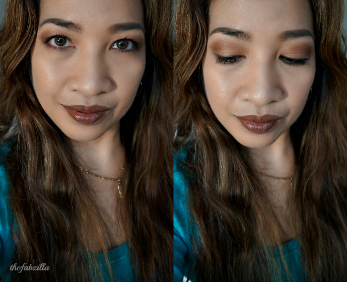 #FaceFriday , Monochromatic Brown Makeup, Tom Ford Lips and Boys Gustavo, Guerlain Lingerie de Peau Powder Foundation, Guerlain Terracota Joli Teint, NARS Creamy Concealer, Gucci Eye Magnetic Color Shadow Quad