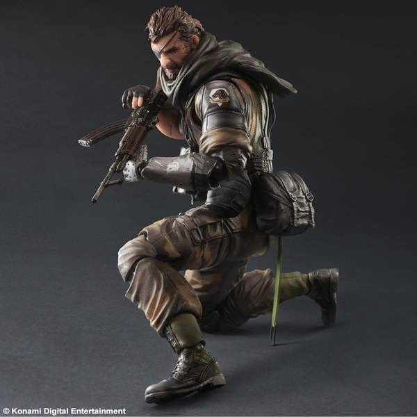 play arts action figure snake