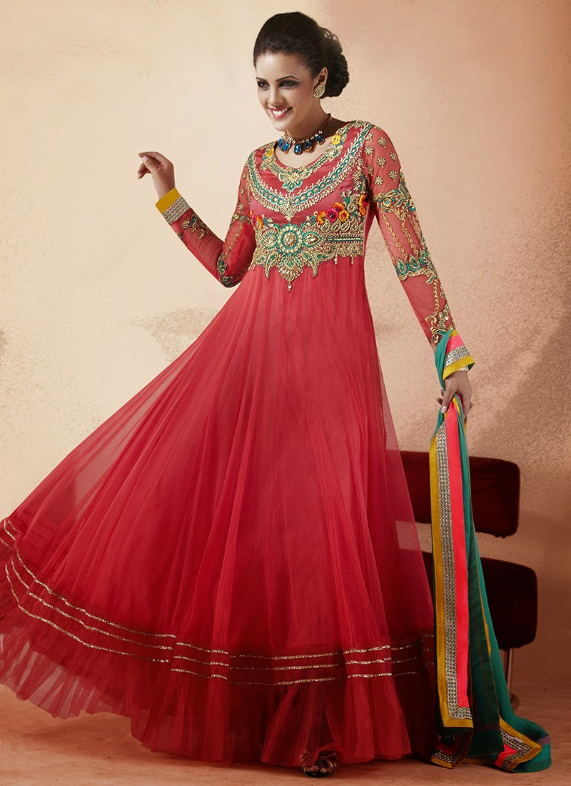 Long Anarkali Frock Collection Missy Lovesx3