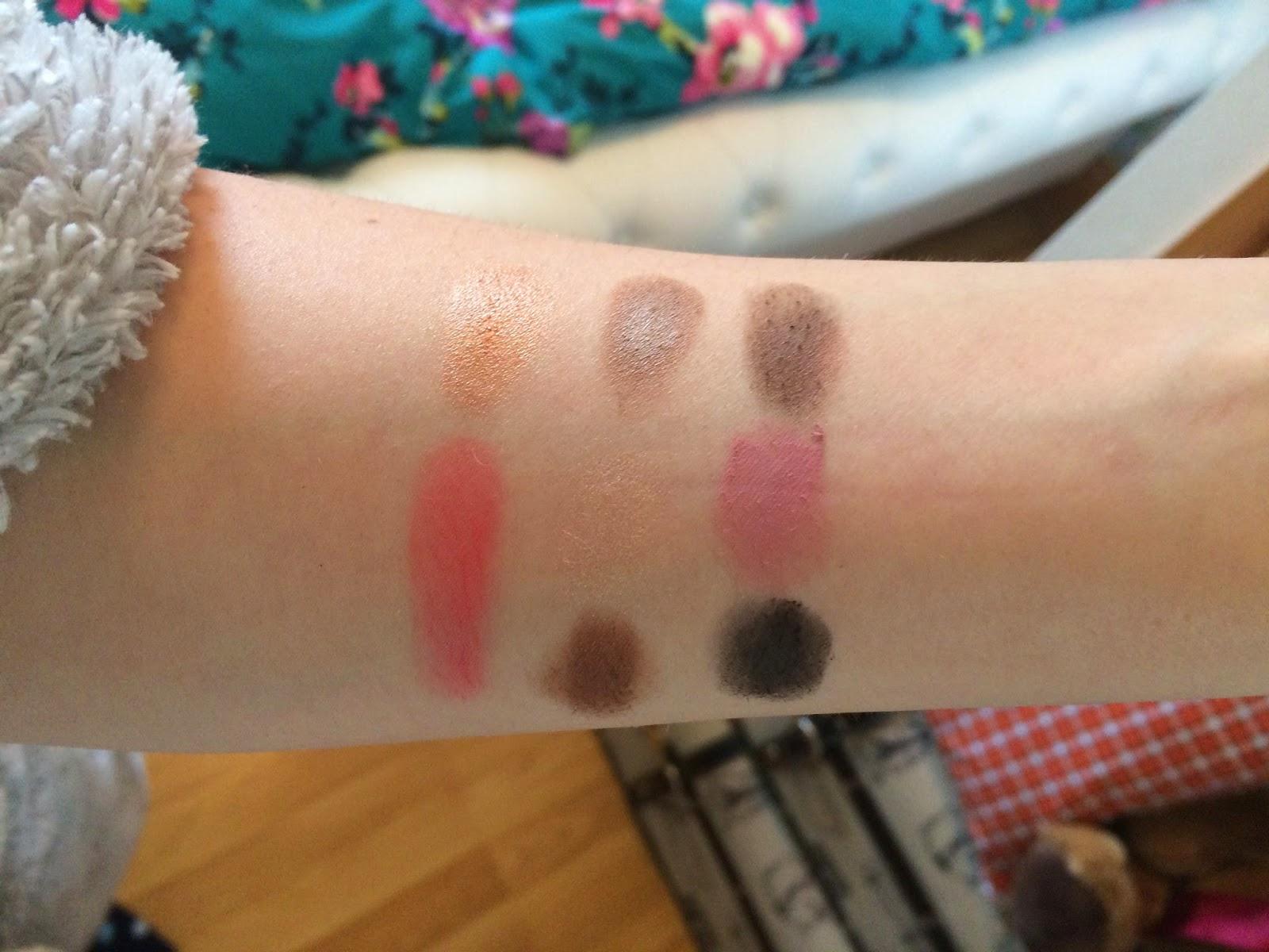 illamasqua, eyeshadow, blush, multi facets, bbloggers, beauty, make up, review, swatches