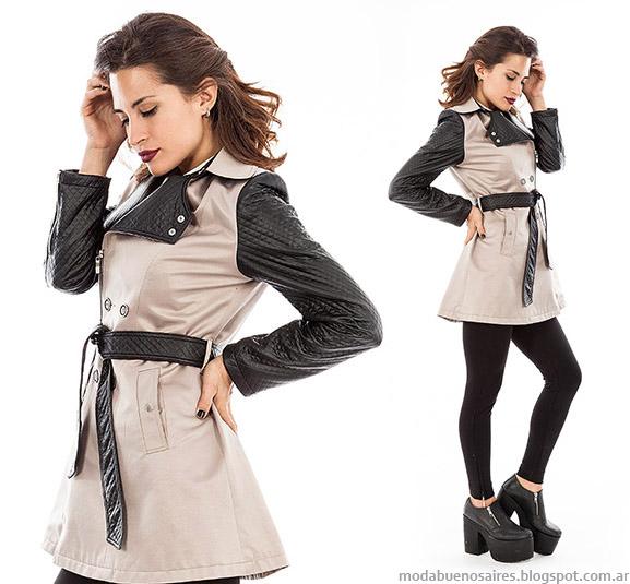 Moda otoño invierno 2015 abrigos y ropa de mujer Activity colección otoño invierno 2015.