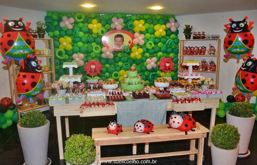 festa joaninha  festa jardim  festa infantil personalizada