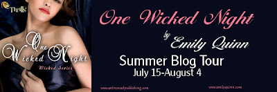Blog Tour: One Wicked Night (Wicked #1) by Emily Quinn