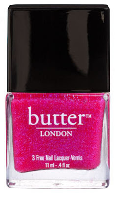 Butter London Nail Lacquer Disco Biscuit review