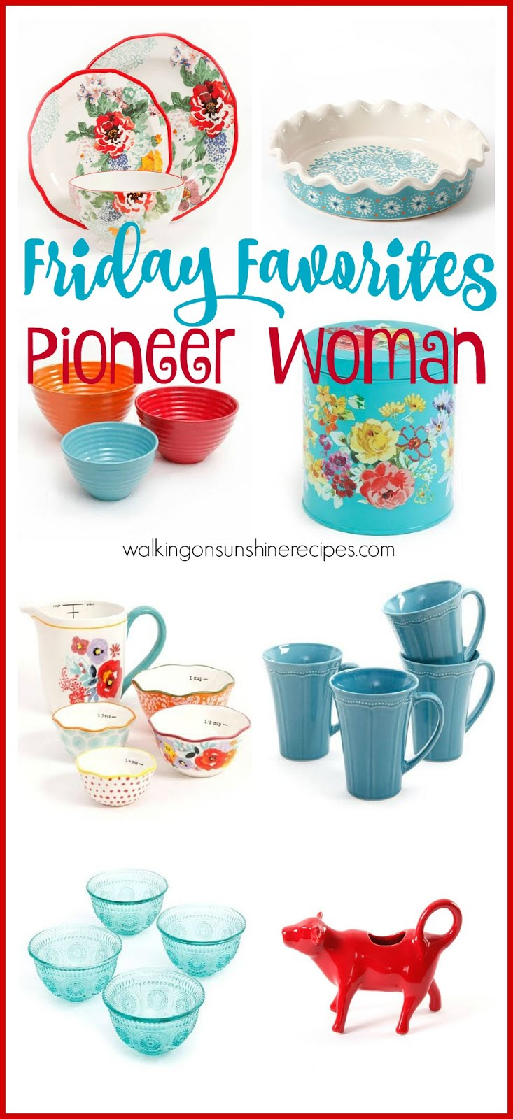 Pioneer Woman Wish List