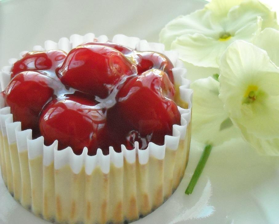 Diabetics Rejoice Light Amp Easy Mini Cherry Cheesecake