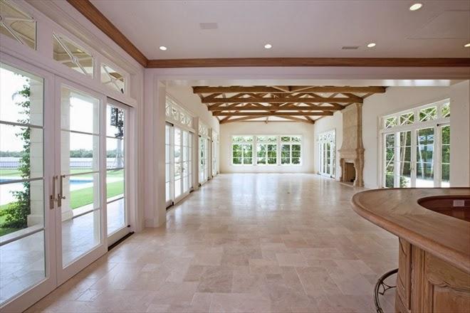 Garden room in a Palm Beach mansion
