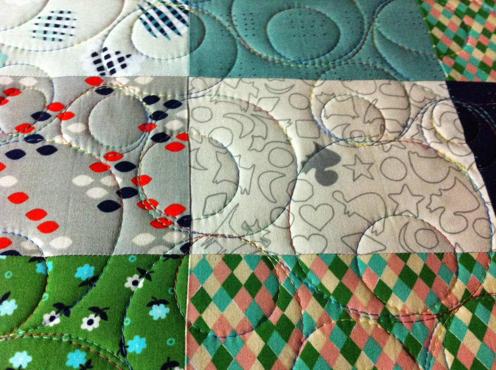 Linda's Quiltmania: January 2015 : easiest quilt ever - Adamdwight.com