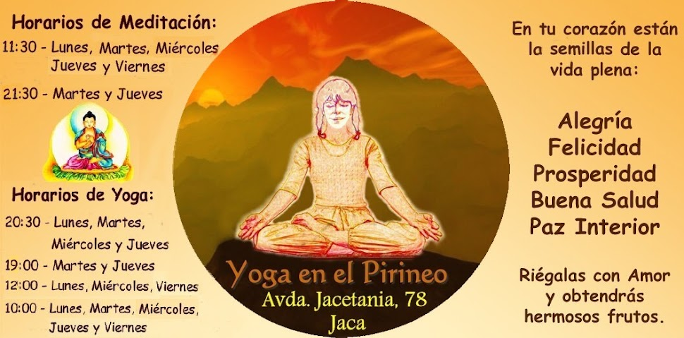 Yoga y Meditación en Jaca-Spain