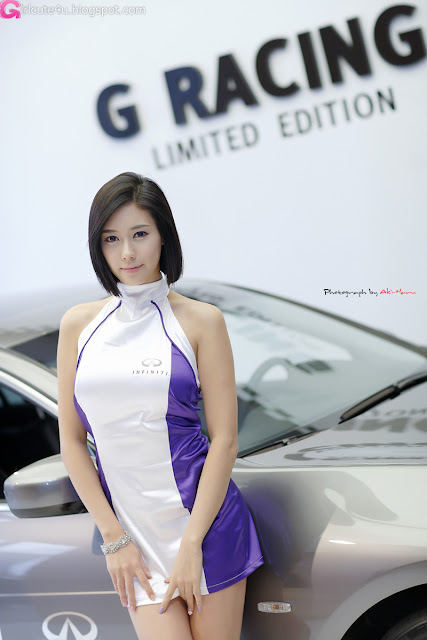 4 Kim Ha Yul - Infiniti G Racing Limited Edition-very cute asian girl-girlcute4u.blogspot.com