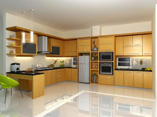 Dapur rumah minimalis sederhana 3