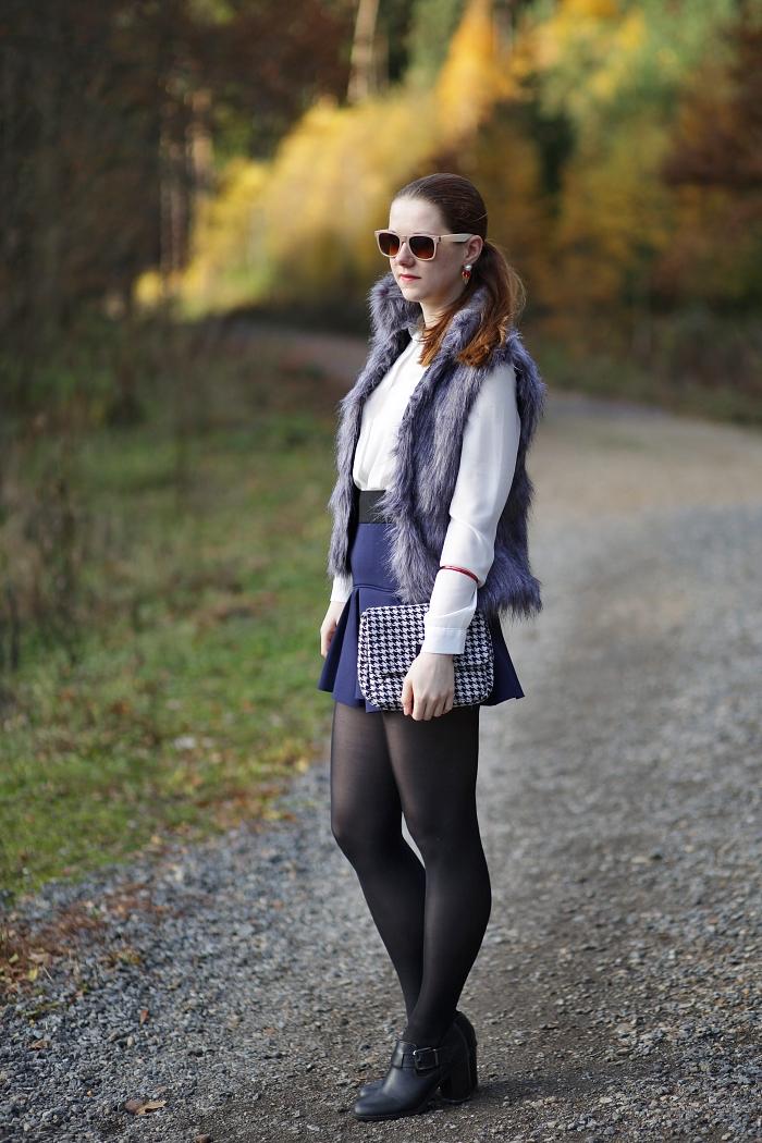 sammydress, fur vest, módní blogerka, blogerky z prahy, lucie srbová, móda