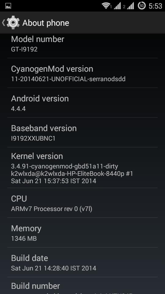 cyanogenmod11 s4 mini duos