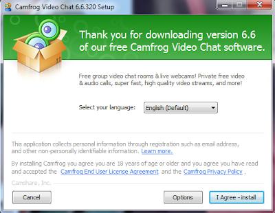 Install Camfrog 6.6