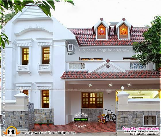 March 2014 kerala home design and floor plans for Kerala home designs 2014