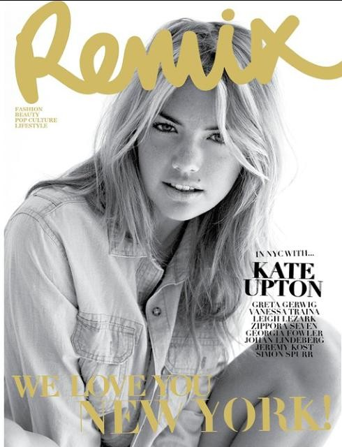 Kate Upton on Remix Magazine (August 2011)