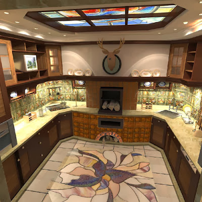 luxury kitchen 2015, How to make the kitchen more cozy with their own hands