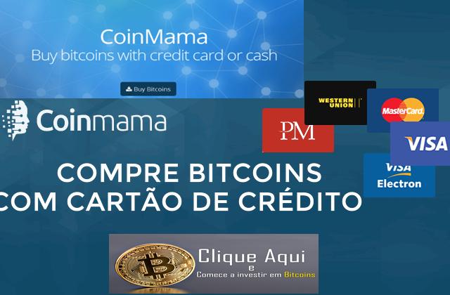 COMPRE BITCOINS COM CARTÃO DE CRÉDITO