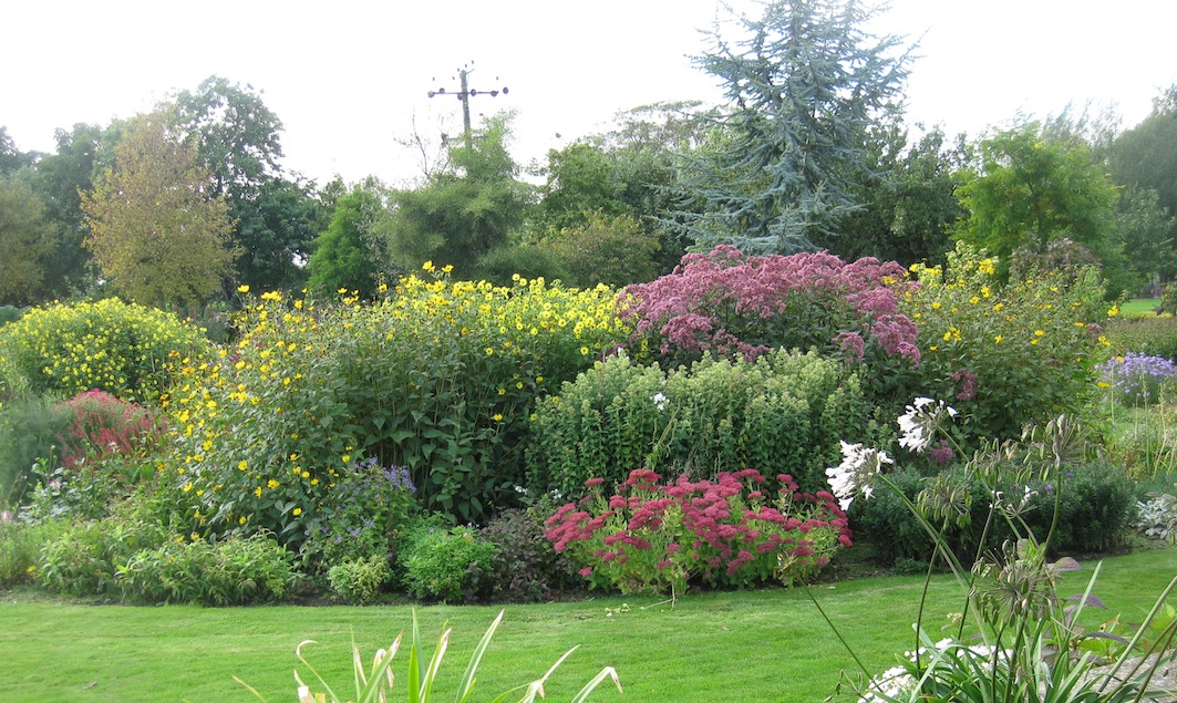 Roger brook the no dig gardener garden myths discussed for Herbaceous border design examples