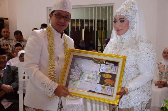 Wakil Bupati Wonosobo Akhirnya Menikah