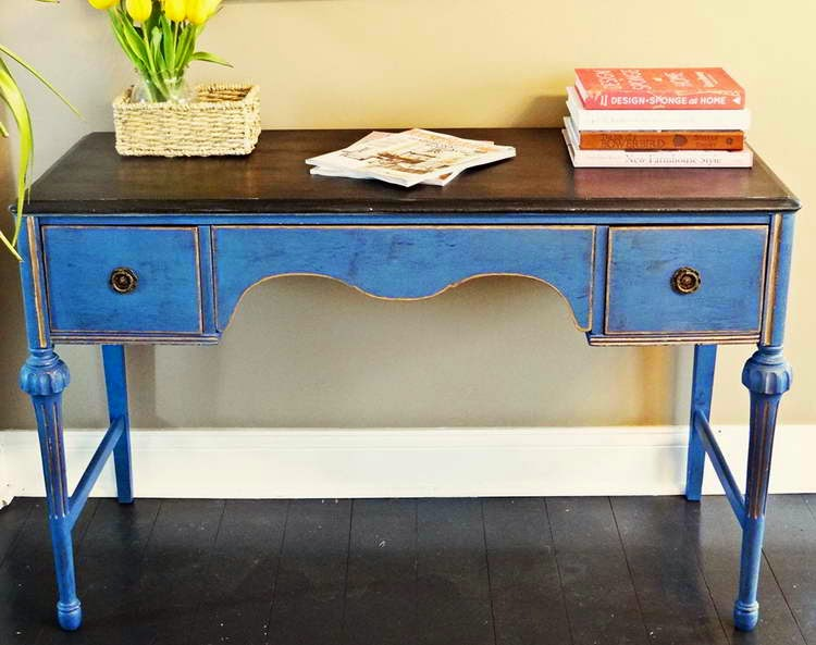 property management blog trash to treasure - Refinishing Wood Table