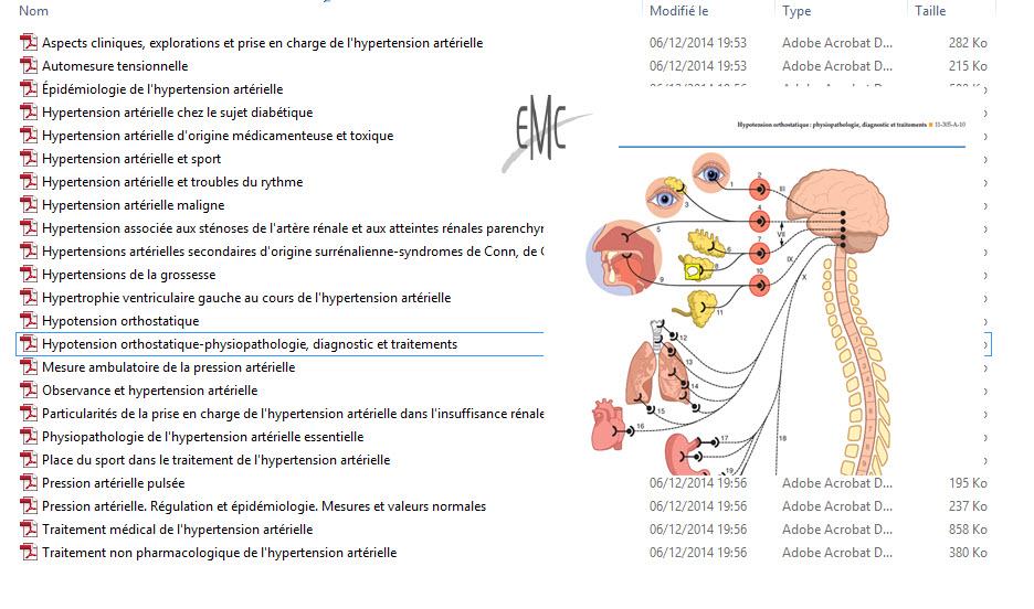 livre] EMC Cardiologie - TENSION ARTÉRIELLE ET SES TROUBLES