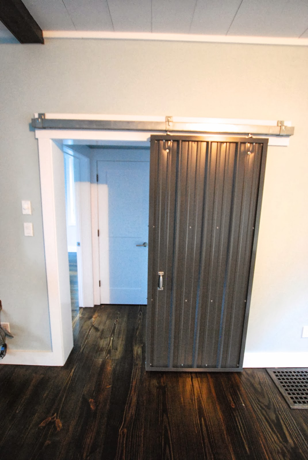 Sullivan county ulster county real estate catskill for Metal barn doors