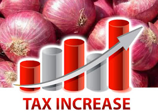 Import tax increased on big onions
