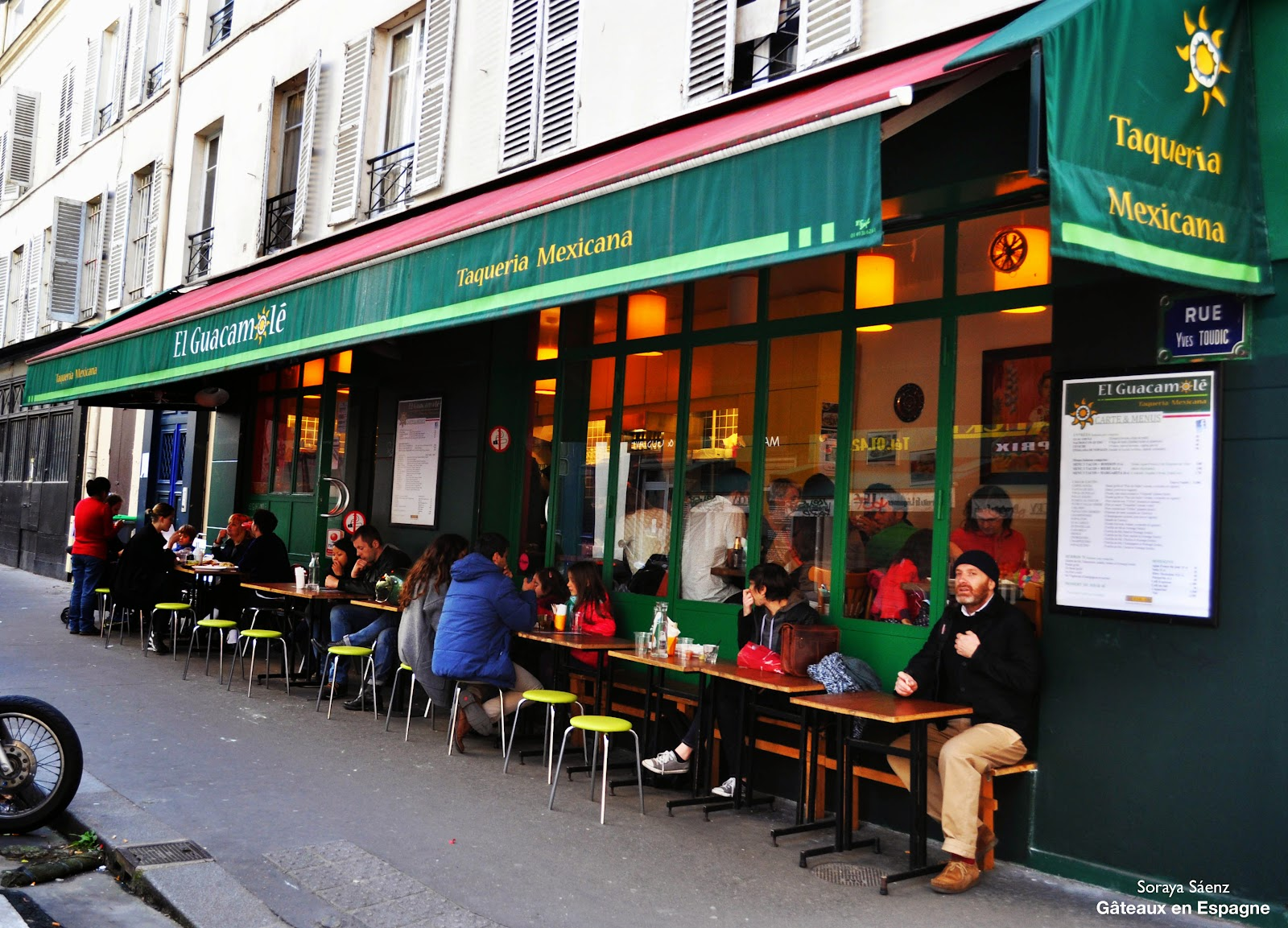 vrai restaurant mexicain a paris