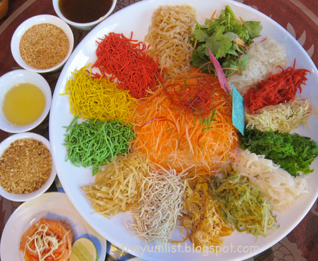 yee sang, Chinese New Year