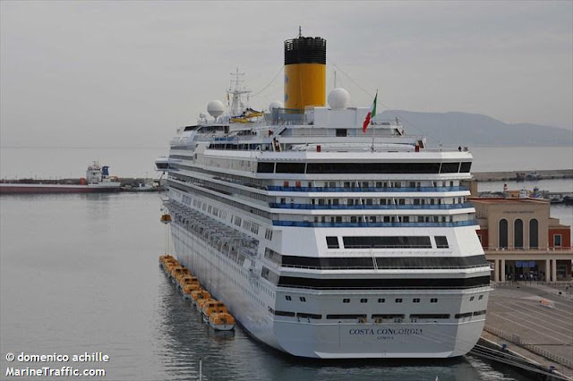 Costa concordia grounding - What side is port and starboard on a boat ...