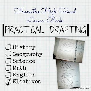 Practical Drafting on Homeschool Coffee Break @ kympossibleblog.blogspot.com