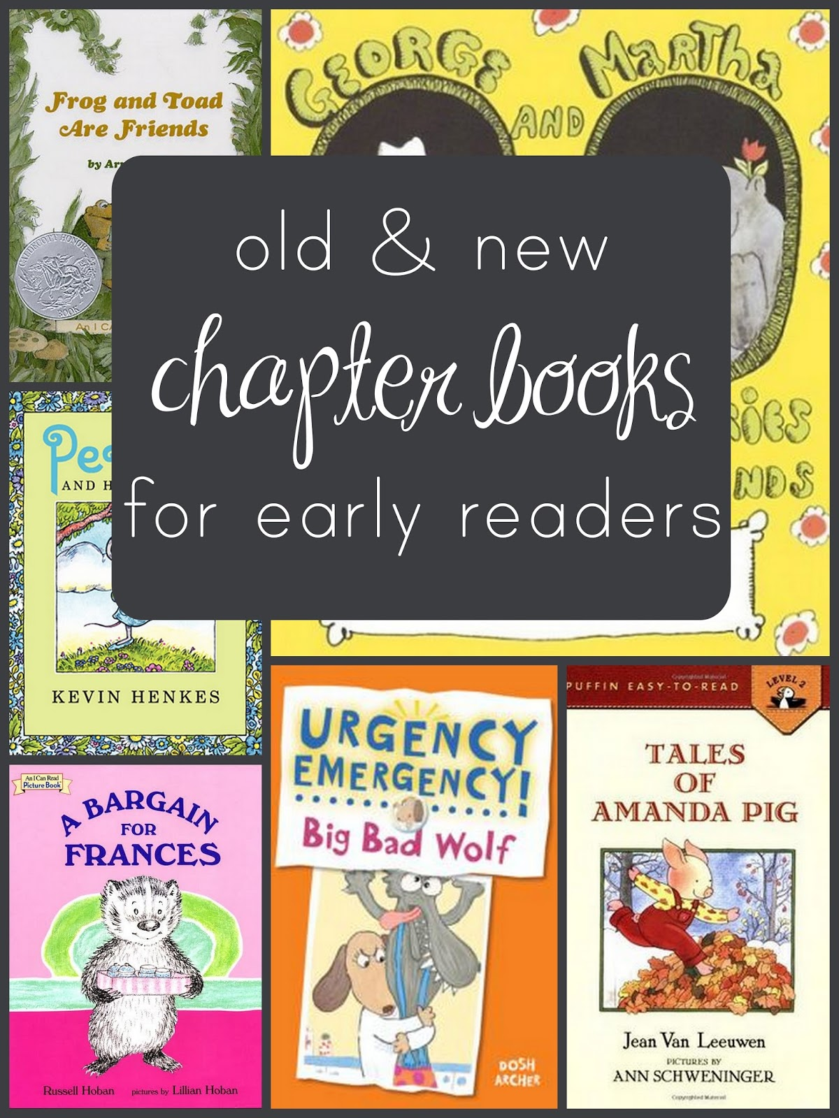 Everyday reading a brief list of early chapter books