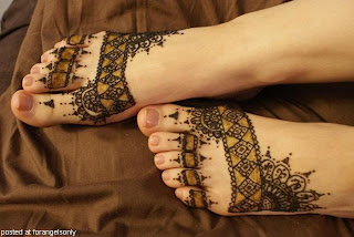 Henna Designs For Foot