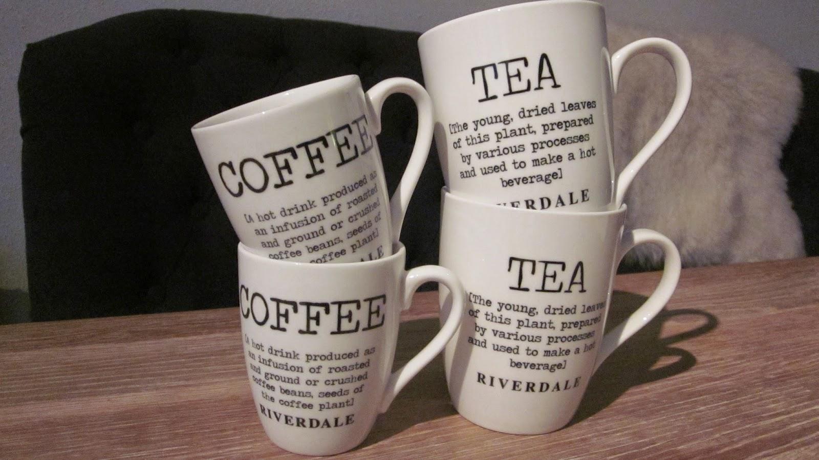 Riverdale koffiekopjes