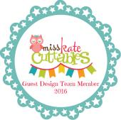 Miss Kate's Cuttables Guest Designer 2016